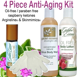 4 Piece Anti-Aging Body Care Kit Dropship to Patient