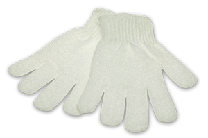 Exfoliating Gloves High Quality, Long Lasting - Single Pair
