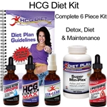 HCG Ultra Max Diet Kit - Complete 6 Piece Kit