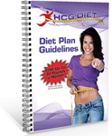 HCG Diet Plan Guidelines - packs of 6 - ships separately