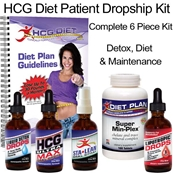 HCG Ultra Max Diet Kit - Complete 6 Piece Kit Dropships to Patient
