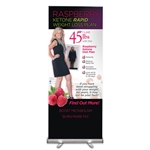 "RK Diet Plan Floor Banner 80"" X 33"""